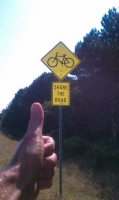 Big Thumbs Up To That Sign Of The Times.